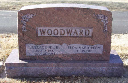 GREEN WOODWARD, ELDA MAE - Shelby County, Iowa | ELDA MAE GREEN WOODWARD