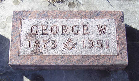 WOODWARD, GEORGE W. - Shelby County, Iowa | GEORGE W. WOODWARD