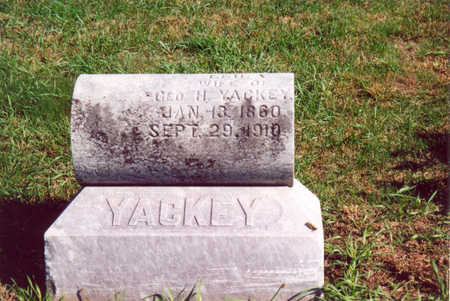 YACKEY, LELIA - Shelby County, Iowa | LELIA YACKEY