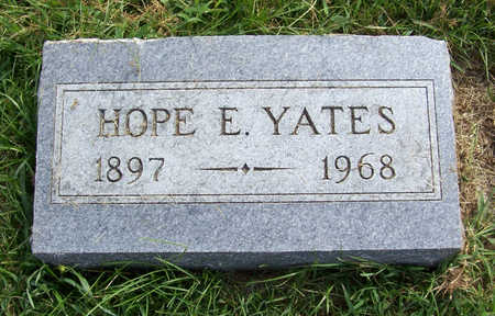 YATES, HOPE E. - Shelby County, Iowa | HOPE E. YATES
