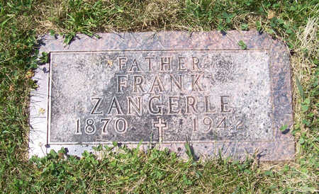 ZANGERLE, FRANK (FATHER) - Shelby County, Iowa | FRANK (FATHER) ZANGERLE