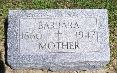 ZIMMERMAN, BARBARA (MOTHER) - Shelby County, Iowa | BARBARA (MOTHER) ZIMMERMAN