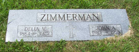 ZIMMERMAN, DELIA V. - Shelby County, Iowa | DELIA V. ZIMMERMAN