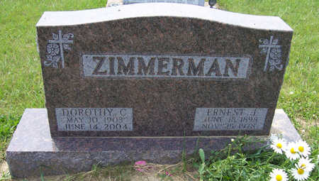 WILLMESS ZIMMERMAN, DOROTHY C. - Shelby County, Iowa | DOROTHY C. WILLMESS ZIMMERMAN