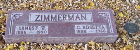 ZIMMERMAN, ERNEST W. - Shelby County, Iowa | ERNEST W. ZIMMERMAN