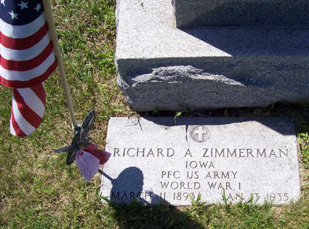 ZIMMERMAN, RICHARD A. (MILITARY) - Shelby County, Iowa | RICHARD A. (MILITARY) ZIMMERMAN