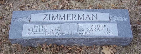ZIMMERMAN, WILLIAM A. (FATHER) - Shelby County, Iowa | WILLIAM A. (FATHER) ZIMMERMAN