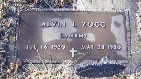 ZOGG, ALVIN L. (MILITARY) - Shelby County, Iowa | ALVIN L. (MILITARY) ZOGG