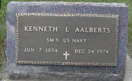 AALBERTS, KENNETH L. - Sioux County, Iowa | KENNETH L. AALBERTS