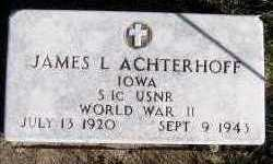 ACHTERHOFF, JAMES L. - Sioux County, Iowa | JAMES L. ACHTERHOFF