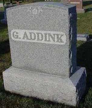 ADDINK, G. - Sioux County, Iowa | G. ADDINK
