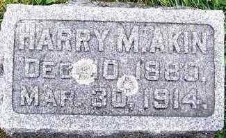 AKIN, HARRY M. - Sioux County, Iowa | HARRY M. AKIN