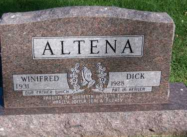 ALTENA, WINIFRED - Sioux County, Iowa | WINIFRED ALTENA