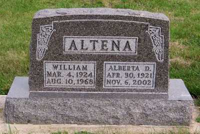ALTENA, WILLIAM - Sioux County, Iowa | WILLIAM ALTENA