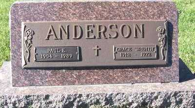 ANDERSON, PAUL E. - Sioux County, Iowa | PAUL E. ANDERSON