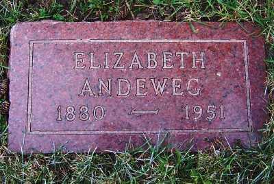 ANDEWEG, ELIZABETH - Sioux County, Iowa | ELIZABETH ANDEWEG