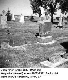 ARENS, FAMILY PLOT - Sioux County, Iowa | FAMILY PLOT ARENS