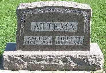 ATTEMA, AALTJE - Sioux County, Iowa | AALTJE ATTEMA