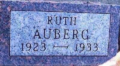 AUBERG, RUTH - Sioux County, Iowa | RUTH AUBERG