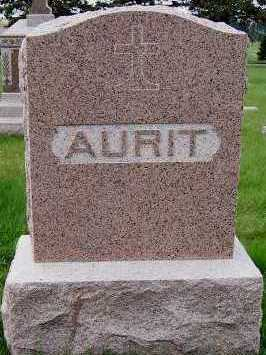 AURIT, HEADSTONE - Sioux County, Iowa | HEADSTONE AURIT