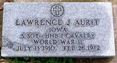 AURIT, LAWRENCE J. - Sioux County, Iowa | LAWRENCE J. AURIT