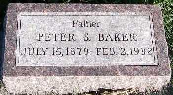 BAKER, PETER S. - Sioux County, Iowa | PETER S. BAKER