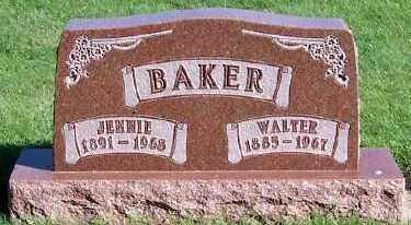 BAKER, JENNIE - Sioux County, Iowa | JENNIE BAKER