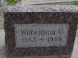 BAKER, WILHELMINA C. - Sioux County, Iowa | WILHELMINA C. BAKER
