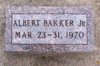 BAKKER, ALBERT JR. - Sioux County, Iowa | ALBERT JR. BAKKER