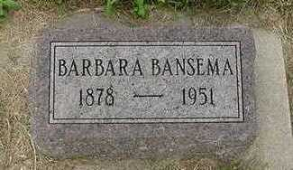 BANSEMA, BARBARA - Sioux County, Iowa | BARBARA BANSEMA