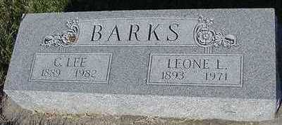 BARKS, LEONE L. (MRS. C.LEE) - Sioux County, Iowa | LEONE L. (MRS. C.LEE) BARKS