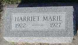 BARKS, HARRIET MARIE - Sioux County, Iowa | HARRIET MARIE BARKS