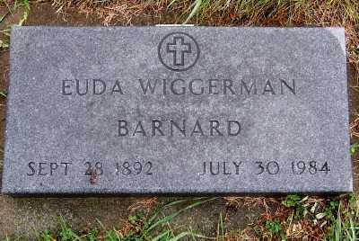 BARNARD, EUDA - Sioux County, Iowa | EUDA BARNARD