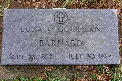 WIGGERMAN BARNARD, EUDA - Sioux County, Iowa | EUDA WIGGERMAN BARNARD