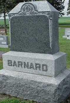 BARNARD, HEADSTONE - Sioux County, Iowa | HEADSTONE BARNARD