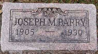 BARRY, JOSEPH M. - Sioux County, Iowa | JOSEPH M. BARRY