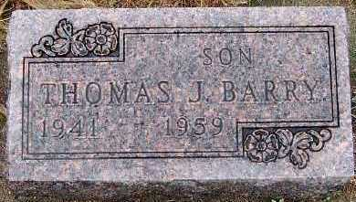 BARRY, THOMAS J. - Sioux County, Iowa | THOMAS J. BARRY