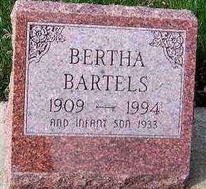 BARTELS, BERTHA - Sioux County, Iowa | BERTHA BARTELS
