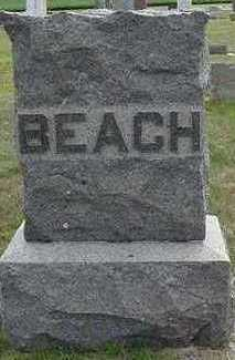 BEACH, HEADSTONE - Sioux County, Iowa | HEADSTONE BEACH