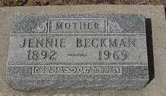 BECKMAN, JENNIE - Sioux County, Iowa | JENNIE BECKMAN