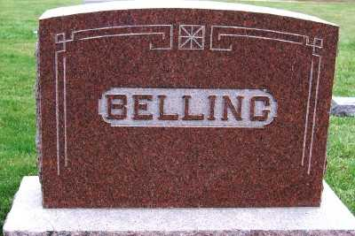 BELLING, FAMILY HEADSTONE - Sioux County, Iowa | FAMILY HEADSTONE BELLING