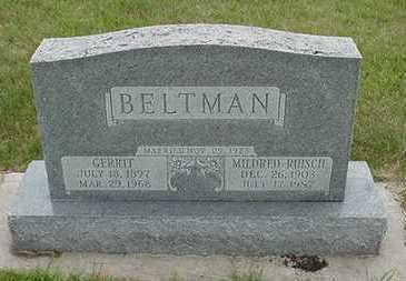 BELTMAN, MILDRED - Sioux County, Iowa | MILDRED BELTMAN