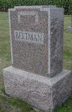 BELTMAN, HEADSTONE - Sioux County, Iowa | HEADSTONE BELTMAN