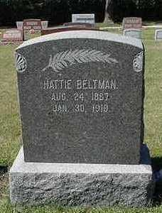 BELTMAN, HATTIE - Sioux County, Iowa | HATTIE BELTMAN