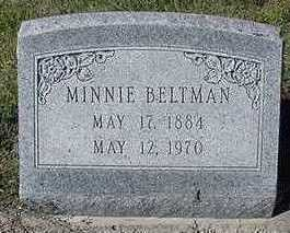 BELTMAN, MINNIE - Sioux County, Iowa | MINNIE BELTMAN