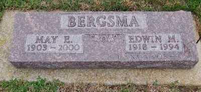 BERGSMA, MAE E. - Sioux County, Iowa | MAE E. BERGSMA
