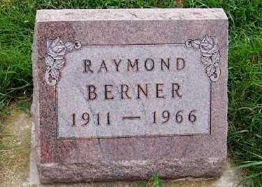 BERNER, RAYMOND - Sioux County, Iowa | RAYMOND BERNER