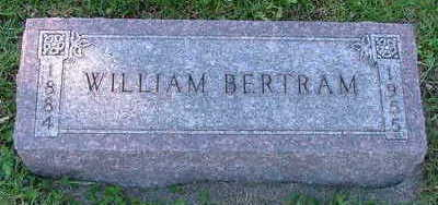 BERTRAM, WILLIAM - Sioux County, Iowa | WILLIAM BERTRAM