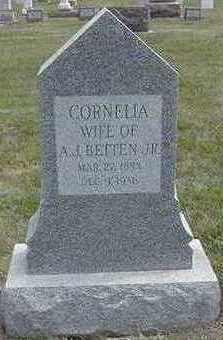 BETTEN, CORNELIA - Sioux County, Iowa | CORNELIA BETTEN
