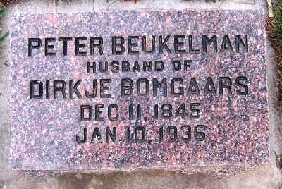 BEUKELMAN, PETER - Sioux County, Iowa | PETER BEUKELMAN